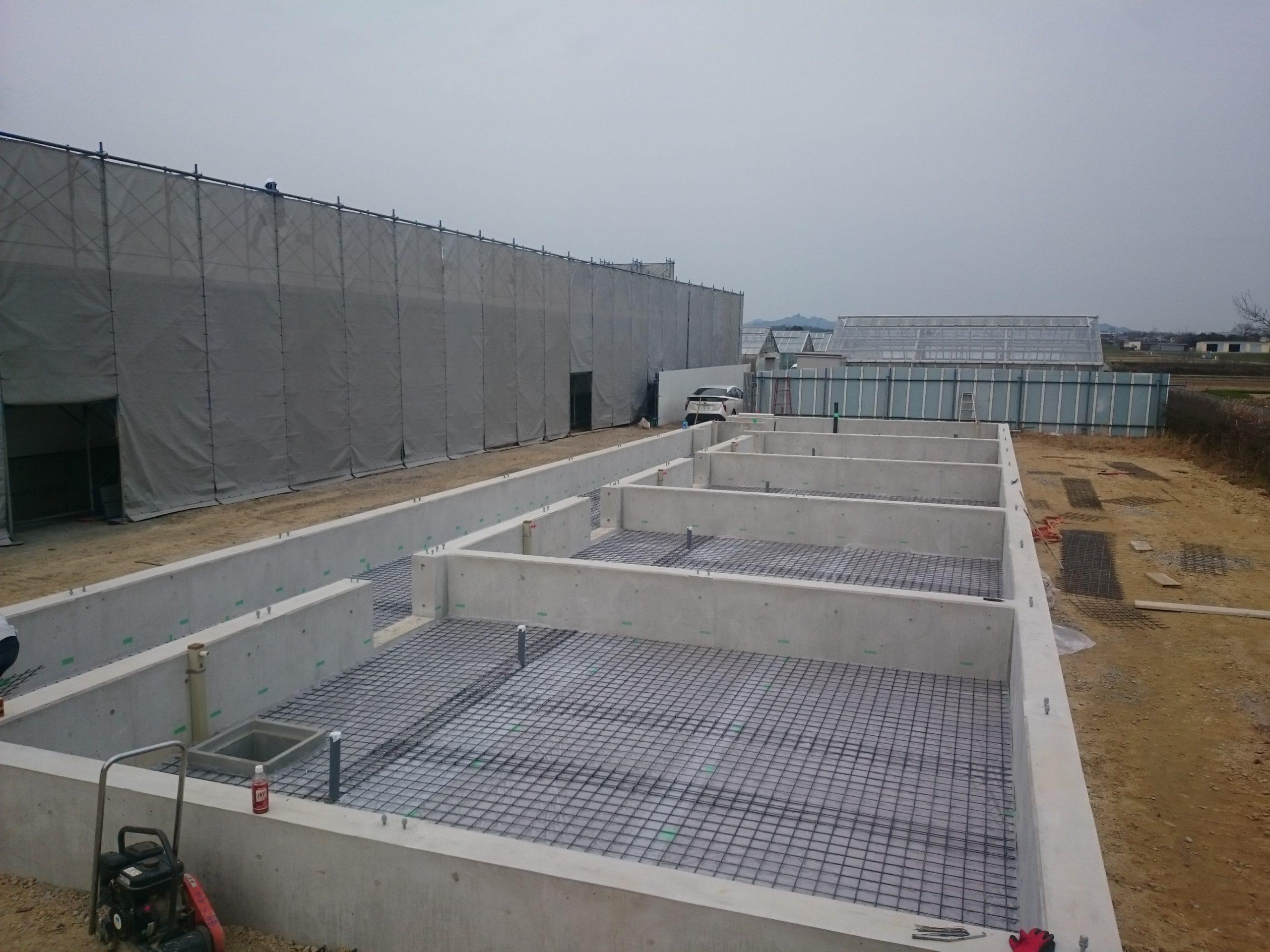加西市研究施設基礎工事