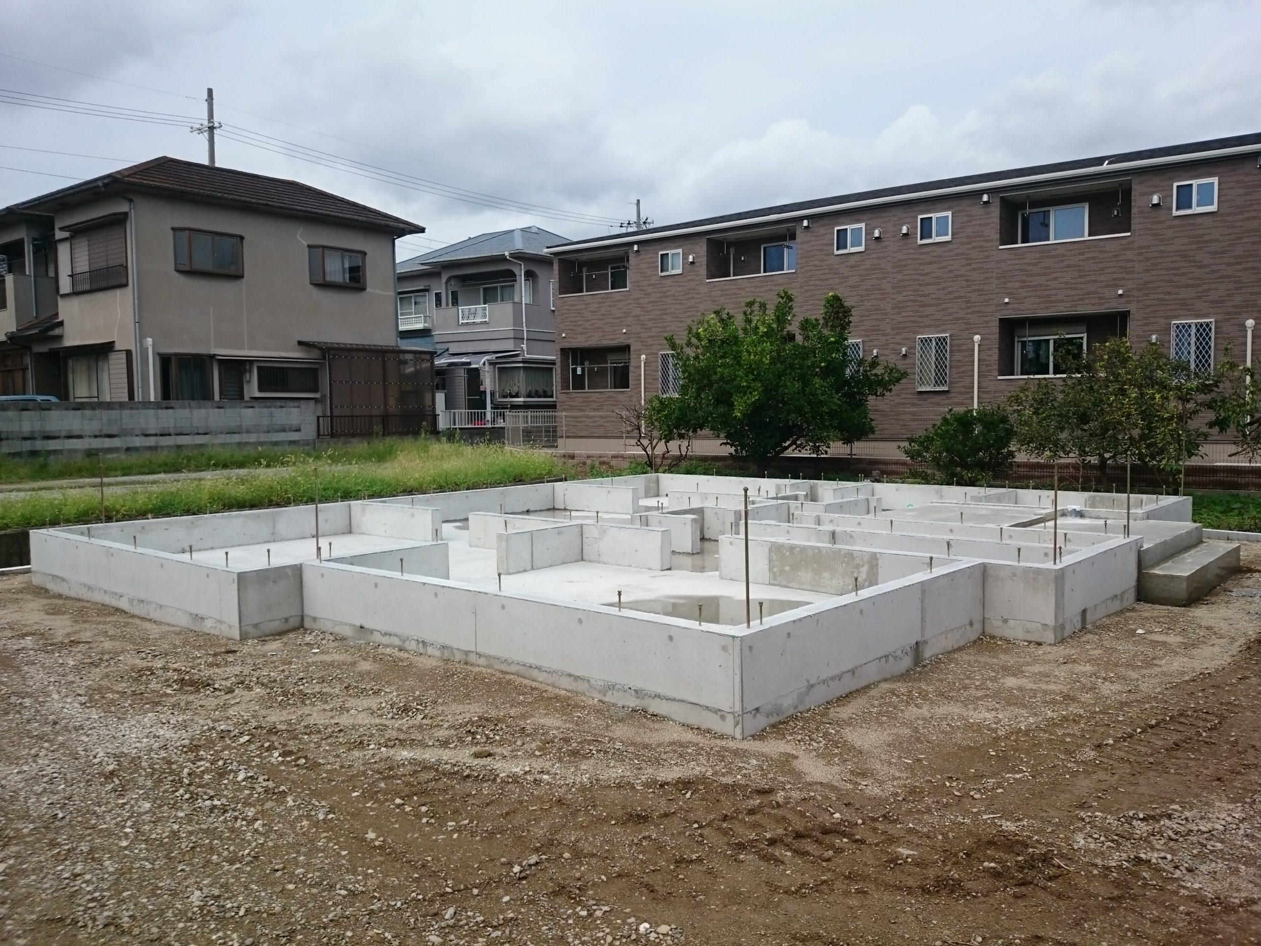 姫路住宅基礎工事